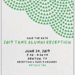 2017 TAMS Alumni Reception